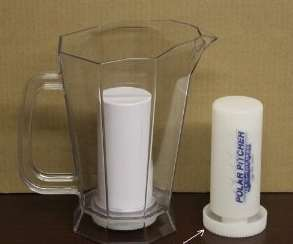 energize your water with this pitcher
