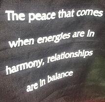 more harmony will come with a higher vibration