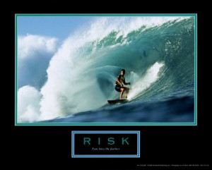 risk and expanding go hand in hand