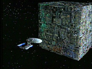 the dark side as the borg
