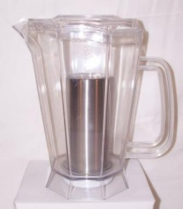 Pitcher to energize water with entrainment
