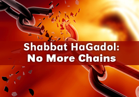 shabbat hagadol: run for freedom