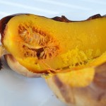 roasted whole butternut squash