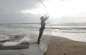 popup tent for cloaking yourself energetically
