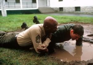 soul guidance through  a movie: an officer and a gentleman