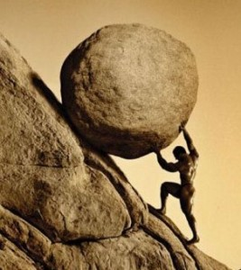 sisyphus and humility
