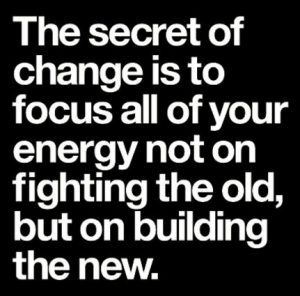 the secret of changing the system
