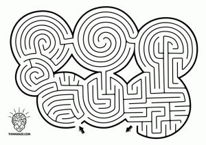 Seven_Circles_Maze_bw