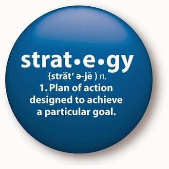 Without strategy your knowledge is useless, and even your actions are ineffective
