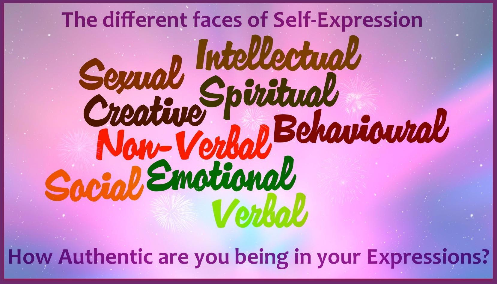 essay on self expression