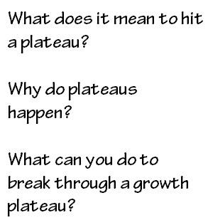 hit-a-plateau