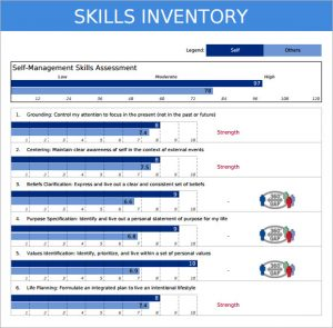 personal-skills-inventory-template