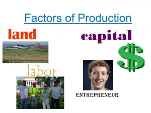 land-labor-capital-spirit