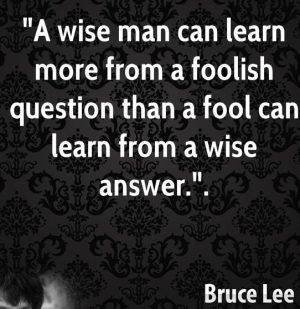 learn-more-from-a-foolish-question