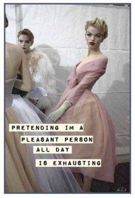 pretending-to-be-pleasant