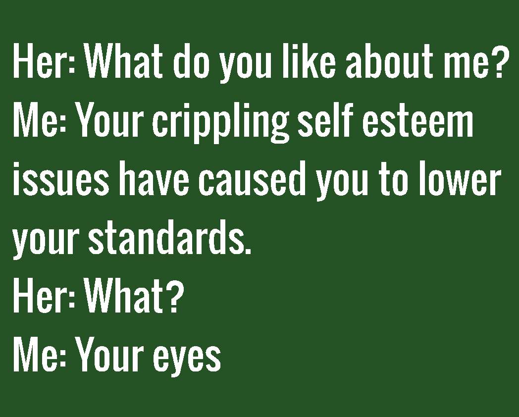 what you like about yourself