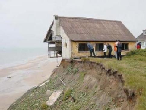 Building a house foundation on sand