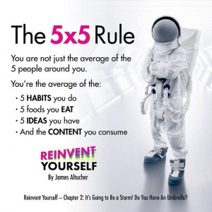 the 5x5 rule altucher