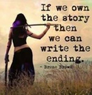 if you own the story you can write the ending