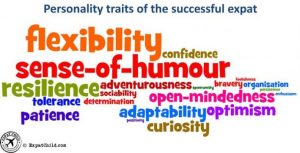 successful personality traits in a new environment