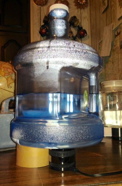 water energizing setup