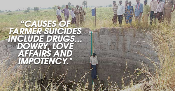 farmers suicide in India