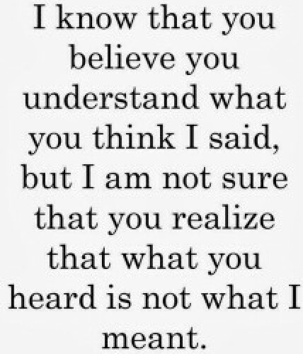 what you heard is not-what-i-meant