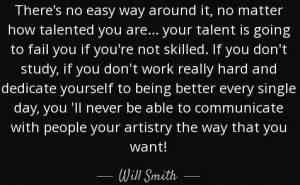 skills bring a talent to light