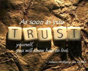 self-trust