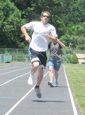 model after the one legged runner