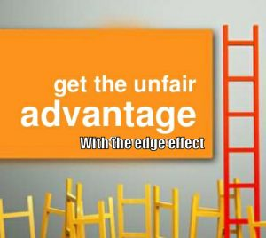 unfair advantage with edge effect