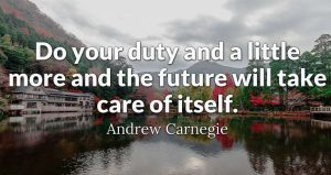 the future will take care of itself