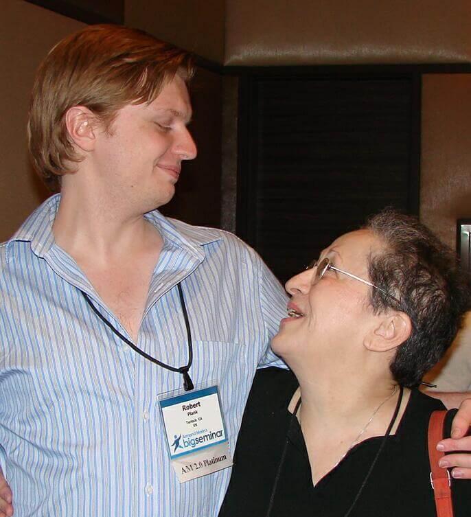 Robert Plank and Sophie Benshitta Maven