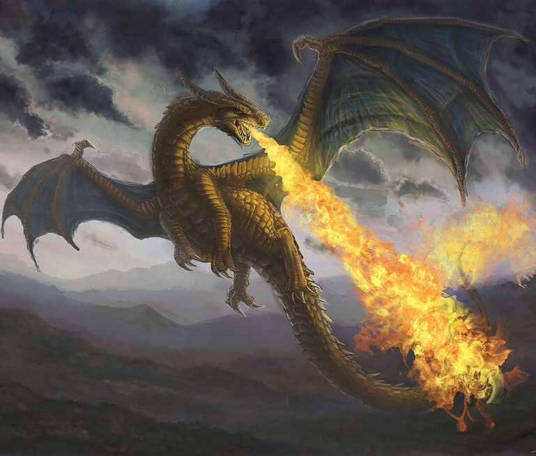 The dragon with the swishy tail... do you know it? Do you have control over it?