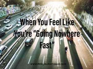 going nowhere fast