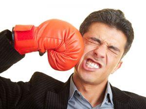 self defeating attitude