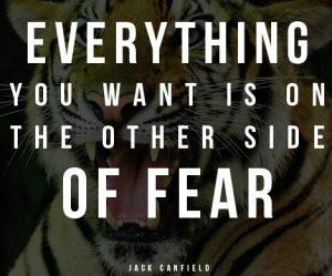fear like desire is flimsy, no energy it it. generate hate instead