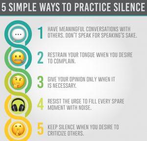 the secret: silence