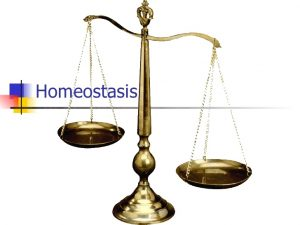 you can be in homeostasis and completely crooked