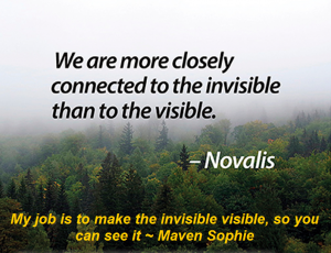 turn the invisible visible