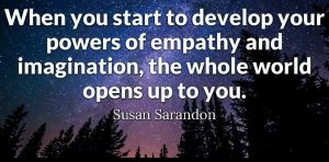develop your imagination and empathy