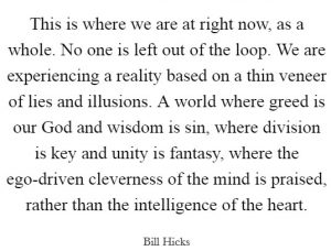 Bill Hicks the spirit is dead