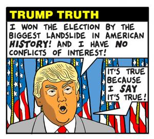 trump post truth world