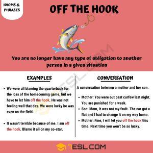 get off the hook