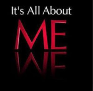 it is all about-me