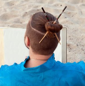 samurai hair do to cause the state of soaring