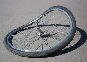 bicycle wheel with no integrity