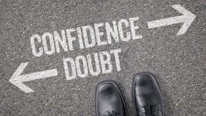 certainty confidence no self doubt