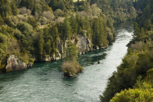 restrictions, boundaries, and gravity are needed for a river