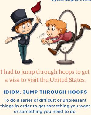 jumping hoops